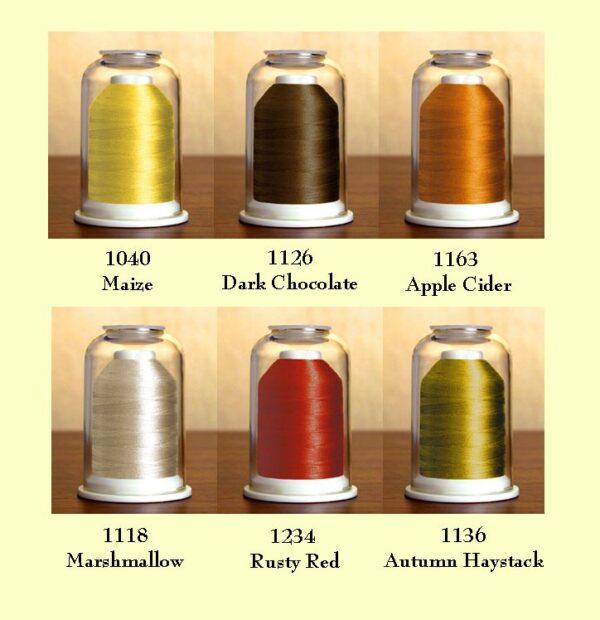 Hemingworth Threadset #26 Colors