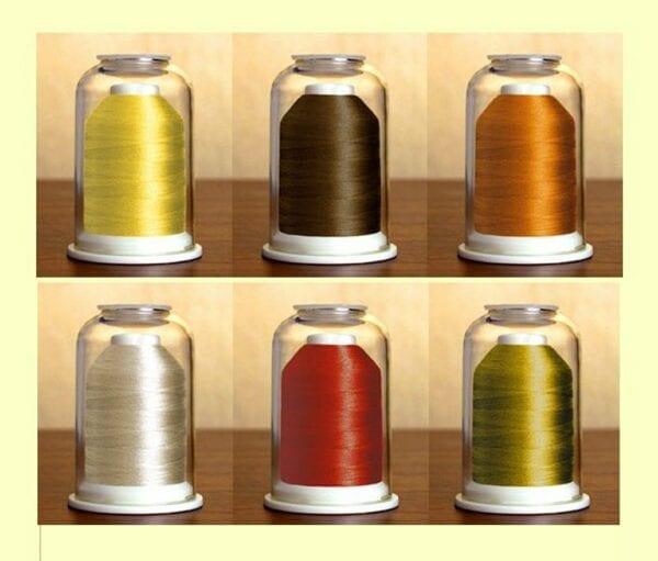 Hemingworth Threadet #26 with bonus designs