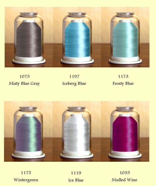 Hemingworth threadset #27 Thread Colors
