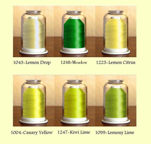 Hemingworth Thread Set #3-Lemon Splash