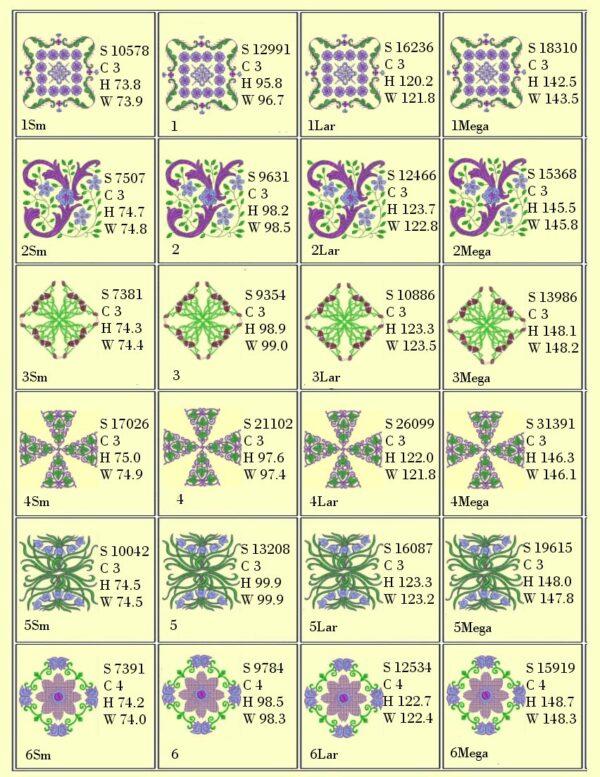 Anemone #3 Design Info Page 1