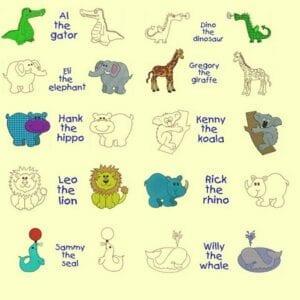 Wild Animals for Kids Designs